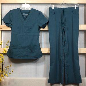 Preowned 1 Set Grey's Anatomy Scrubs